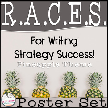 RACES Strategy Poster Set (Pineapple Theme)