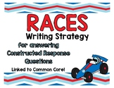 RACES Strategy Posters- Constructed Response Guides for Students