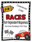 Text Dependent Reading Response Pack {Close Reading & Test Prep}