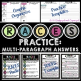 RACES WRITING STRATEGY MULTI-PARAGRAPH GRAPHIC ORGANIZER EXAMPLE POSTER PRACTICE