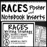 RACES WRITING STRATEGY POSTER & INTERACTIVE NOTEBOOK INSER
