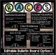 RACES WRITING STRATEGY Bulletin Board & Posters