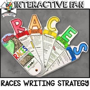 RACES WRITING STRATEGY, RESPONSE WRITING, INTERACTIVE FAN