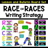 RACES Writing Strategy Bulletin Board Poster Set