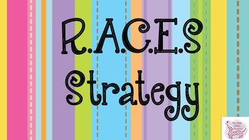 RACES Writing Strategy: How to Answer Constructive Responses