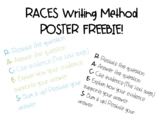 RACES Writing Strategy Poster FREEBIE!
