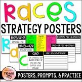 RACES Writing Strategy - Posters, Prompts, & Practice Sheets