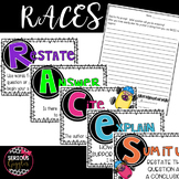 Constructed Response strategy RACES- Posters