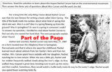 Biography RACHEL CARSON, ENVIRONMENTAL SCIENTIST w/ 20 Reading Comprehension Qs