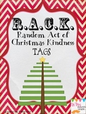RACK Random Acts of Christmas Kindness