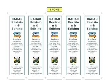 RADAR Revision & Editing Bookmarks