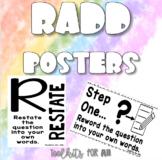 RADD Posters