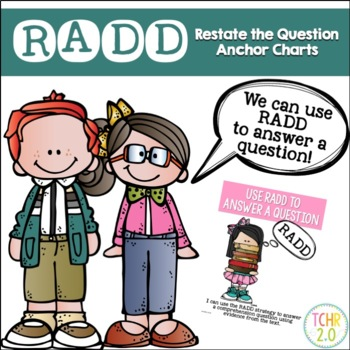 RADD Restate the Question Answering Comprehension Questions Melonheadz Edition