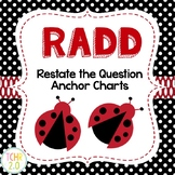 RADD Restate the Question Answering Comprehension Questions Ladybug Theme