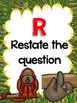 RADD Restate the Question Answering Comprehension Questions Rainforest Theme