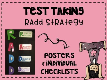 RADD Strategy (Test Prep Test Taking Strategy for a Constr