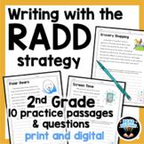 RADD Writing Strategy 2nd Grade grade Text Evidence