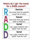 RADD Writing Support