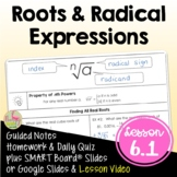 Roots and Radical Expressions (Algebra 2 - Unit 6)