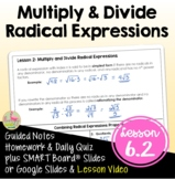 Algebra 2 Multiply and Divide Radical Expressions