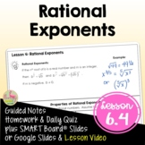 Rational Exponents (Algebra 2 - Unit 6)