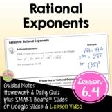 Rational Exponents (Algebra 2 - Unit 6)
