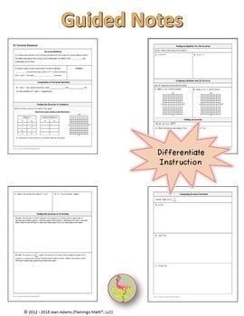 Inverse Functions (Algebra 2 - Unit 6)