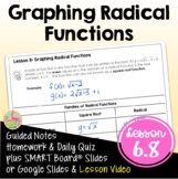 Graphing Radical Functions (Algebra 2 - Unit 6)