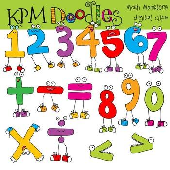 RAFAS Math Monsters COMBO