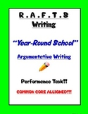 Argument Writing Common Core - R.A.F.T.S