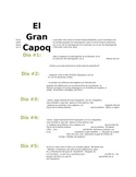 RAFT Assignment Sheet for El Gran Capoquero Assessment