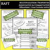 RAFT Associative Commutative Properties of Multiplication Differentiated