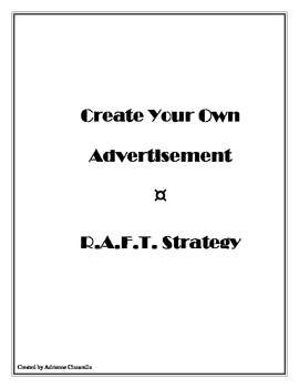 RAFT - Create Your Own Advertisement