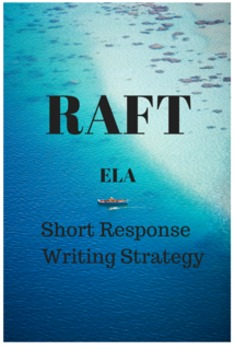 Common Core PARCC ELA Test Prep: RAFT Short Response Writing Strategy