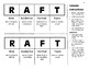 RAFT Foldable Notes *Scaffolded*