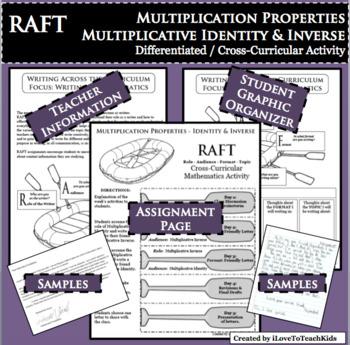 RAFT Identity Inverse Properties Multiplication Differentiated Cross-Curricular
