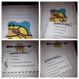 RAFT Math Writing Task Cards