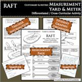 RAFT Measurement Yard Meter Customary Metric Differentiated Cross-Curricular