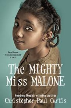 RAFT: Mighty MIss Malone writing project (Common Core Aligned)