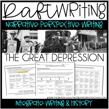 RAFT Narrative Writing - The Great Depression