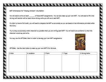 """RAFT Topics for the book """"Chasing Vermeer"""", by B. Balliett"""