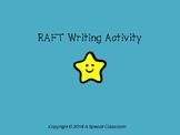 RAFT Writing Activity