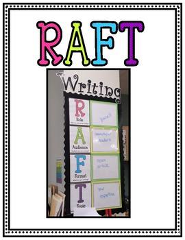RAFT Writing Bulletin Board Posters