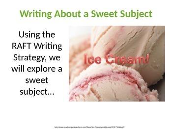 A RAFT Writing Activity