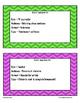 RAFT Writing Task Cards