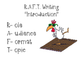 R.A.F.T. Writing Instructional Strategy (Daily-5 Writing)