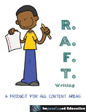 RAFT Writing for All Content Areas