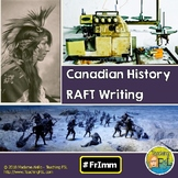 RAFT Written Canadian History Project French Immersion