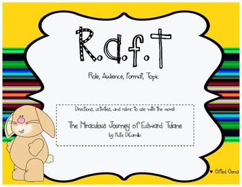 RAFT writing for The Miraculous Journey of Edward Tulane