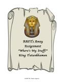 RAFTS AWAY! Where's My Stuff? King Tut Writing Prompt
